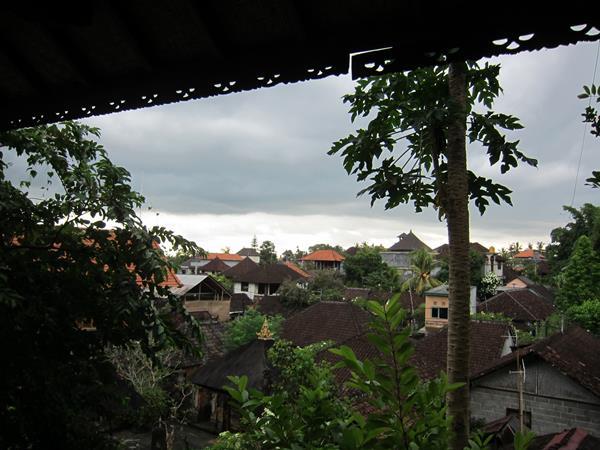 Bouřka na Bali - Ubud