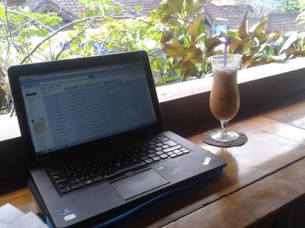 Digitální nomád - Tomáš Procházka - Na Bali