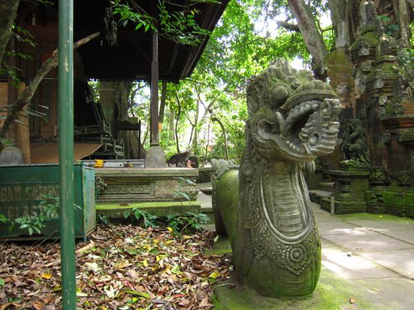 Posvátný opičí les - Ubud