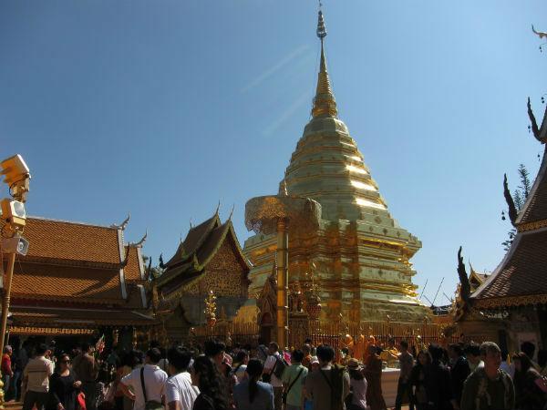 Wat Prahat Doi Suthep aka Ještěd