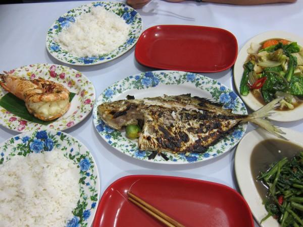 jídlo food Kota Kinabalu