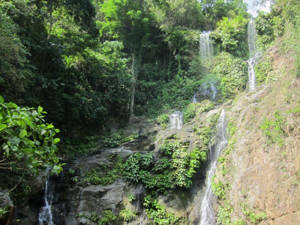 Tamaraw falls vodopády