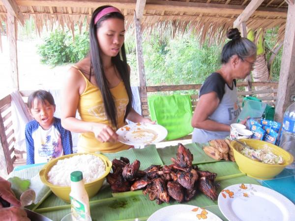 kuře chicken bulabod dulangan