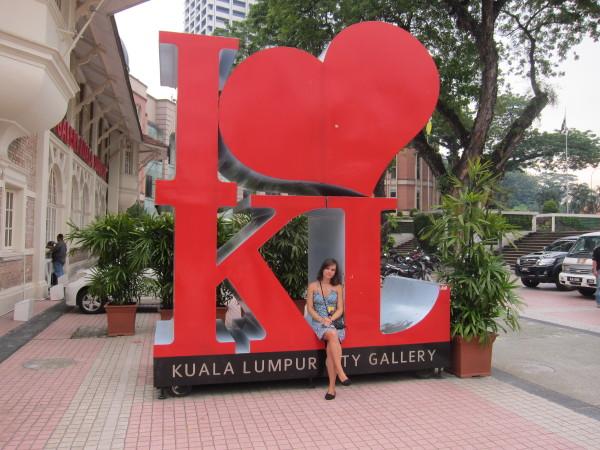 kuala lumpur city gallery Adéla Šestáková